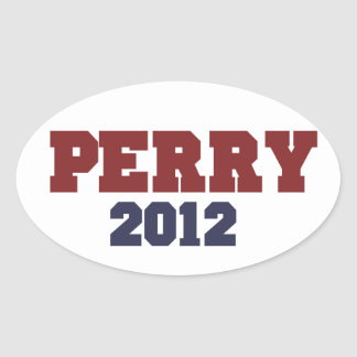 Perry 2012 oval stickers