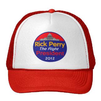 Perry 2012 trucker hat