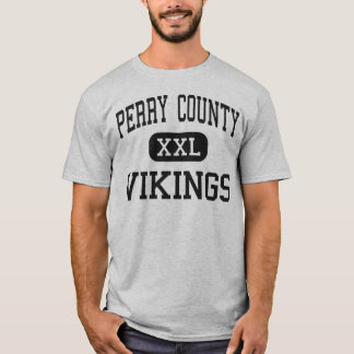 Perry County - Vikings - High - Linden Tennessee T-Shirt