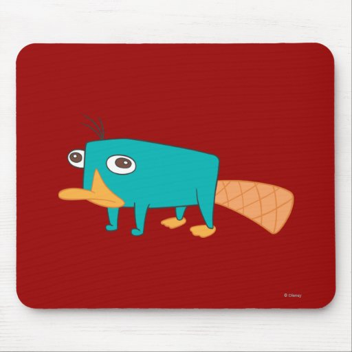 Perry el Platypus Alfombrilla De Raton