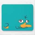 Perry el Platypus Alfombrillas De Ratón