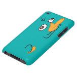 Perry el Platypus Barely There iPod Coberturas