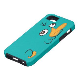 Perry el Platypus iPhone 5 Case-Mate Cobertura