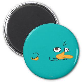 Perry el Platypus Imán Redondo 5 Cm