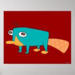 Perry el Platypus Impresiones