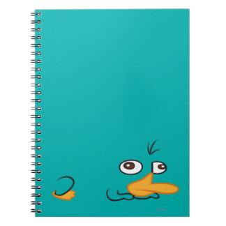 Perry el Platypus Libreta