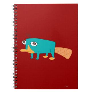 Perry el Platypus Libretas