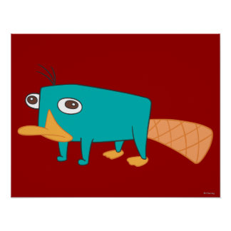 Perry el Platypus Póster