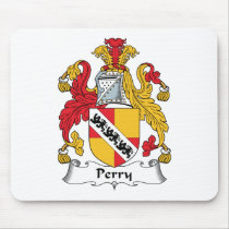 Perry Family Crest Mousepad