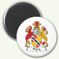 Perry Family Crest Magnet
