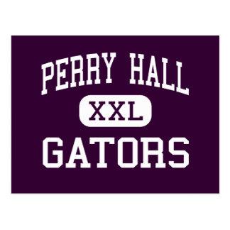 Perry Hall - gators - High - Baltimore Maryland Postcard