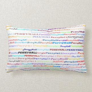 Perry Hall Text Design II Lumbar Pillow