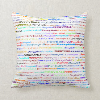 Perry Hall Text Design II Throw Pillow