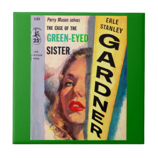 Perry Mason Case of the Green-Eyed Sister Tile