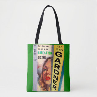 Perry Mason Case of the Green-Eyed Sister Tote Bag
