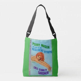 Perry Mason Case of the Negligent Nymph book cover Crossbody Bag