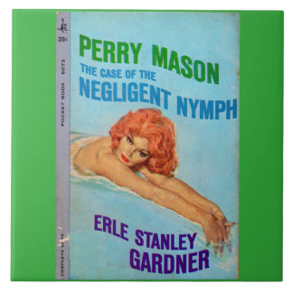 Perry Mason Case of the Negligent Nymph book cover Tile