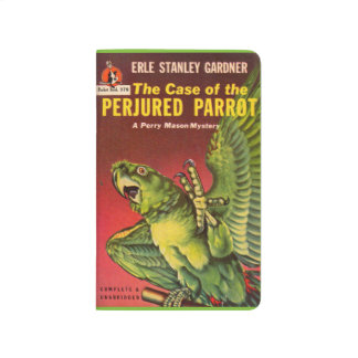 Perry Mason Case of the Perjured Parrot Journal