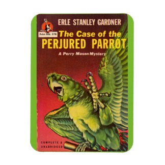 Perry Mason Case of the Perjured Parrot Magnet