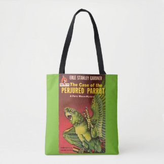 Perry Mason Case of the Perjured Parrot Tote Bag