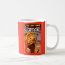 Perry Mason Case of the Sulky Girl book cover Coffee Mug