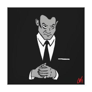 Perry Mason Portrait Canvas Print