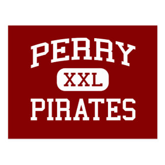 Perry - Pirates - Perry High School - Perry Ohio Postcard