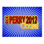 Perry President 2012 Oops Design Postcard