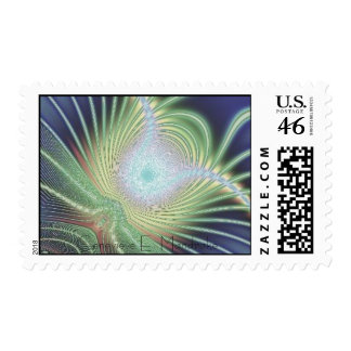 Perry s Electric Deco Peacock Postage