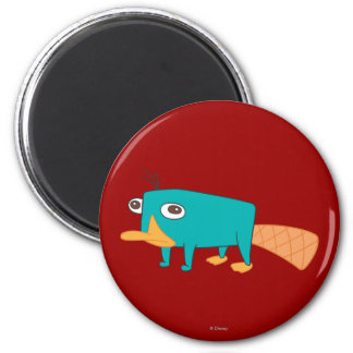 Perry the Platypus 2 Inch Round Magnet