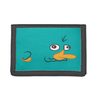 Perry the Platypus 2 Tri-fold Wallet