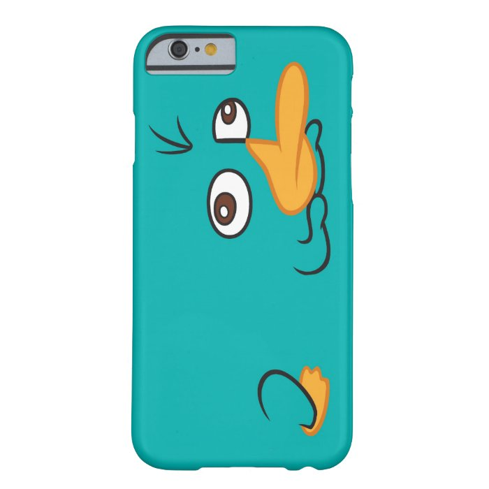 Perry the Platypus Barely There iPhone 6 Case : Zazzle
