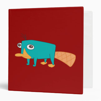 Perry the Platypus Binder