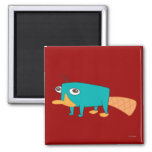 Perry the Platypus Fridge Magnet