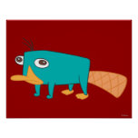 Perry the Platypus Poster