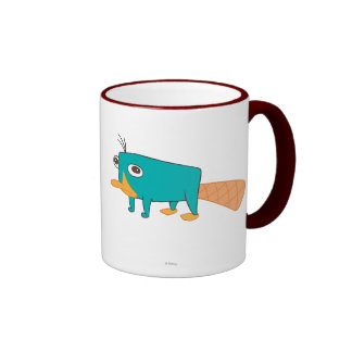 Perry the Platypus Ringer Mug