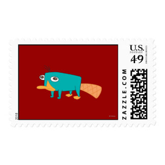 Perry the Platypus Stamp