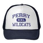 Perry Wildcats Middle School Miramar Florida Mesh Hat