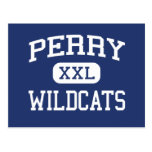 Perry Wildcats Middle School Miramar Florida Postcard