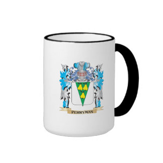 Perryman Coat of Arms - Family Crest Ringer Coffee Mug