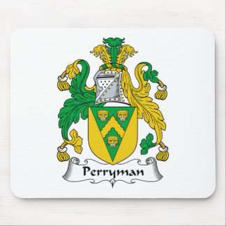 Perryman Family Crest Mouse Pad