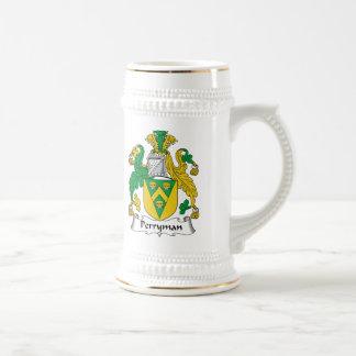Perryman Family Crest 18 Oz Beer Stein
