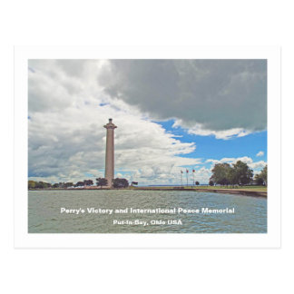 Perry's Victory and International Peace Monument Postcard