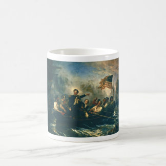 Perry's Victory by William Powell from 1865 Classic White Coffee Mug
