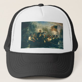 Perry's Victory by William Powell from 1865 Trucker Hat