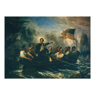 Perry's Victory by William Powell War of 1812 Posters