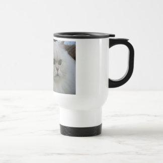 Persa blanco taza de café