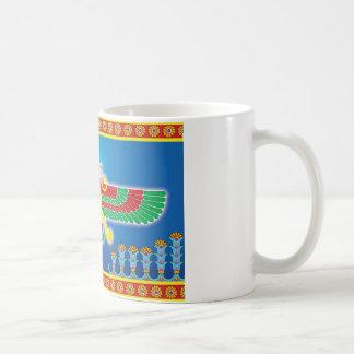 Persa Faravahar del Zoroastrian Taza De Café