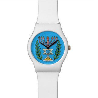 Persa Magen David Menorah Relojes