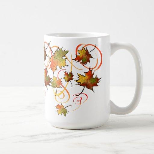 Persecución de la taza de la brisa del otoño